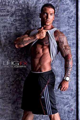 Fitness Model tattoos