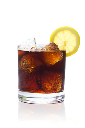 Rum and cDiet Coke