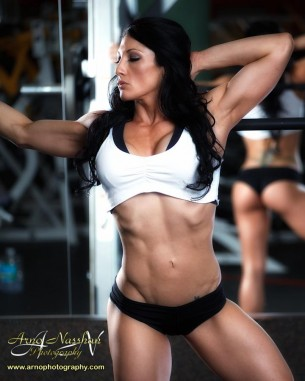 Candice Keene workout