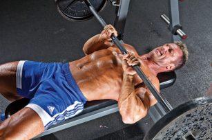 Close Grip Bench Athlete Build