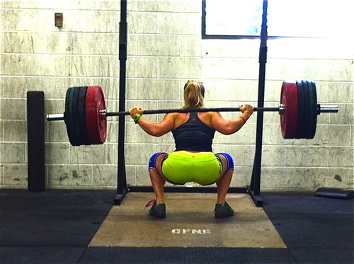 Maximal Effort Method back squat