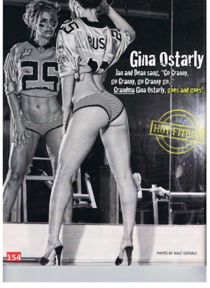 Gina Ostarly fit over forty