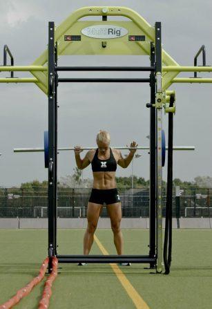 Emma Storey-Gordon squat