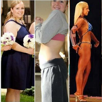 Jennifer Caron transformation fat to fit