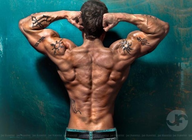 Matt Mankoff bodybuilder back