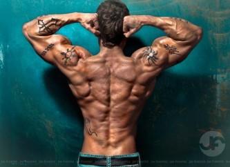 Matt Mankoff bodybuilder back
