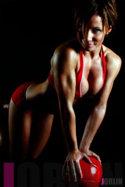 Fitness Athlete and Model Lene Hansen  33744_160696853959705_5246101_n