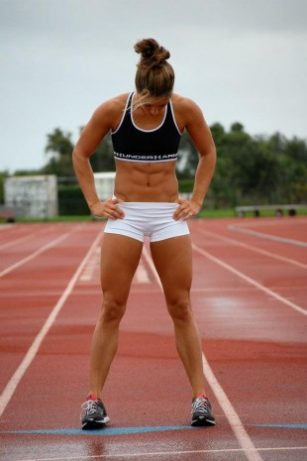Athletic girl