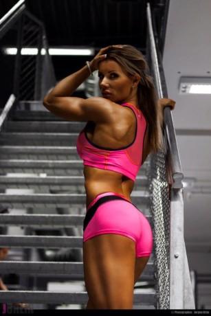 Lene Hansen butt athletic girls