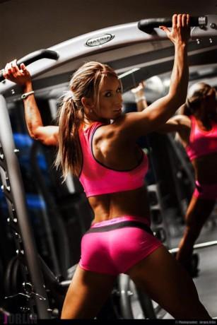 Lene Hansen butt fitness model
