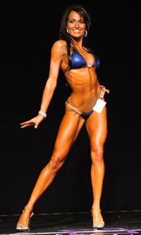 Bikini Competitor Ashley Kurtenbach Workout Routine and Diet