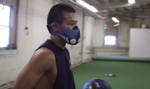 Elevation training, altitude training, elevation training mask