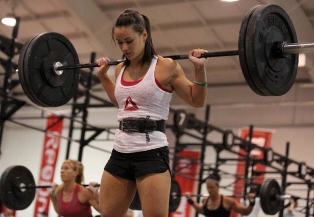 Camille Leblanc Bazinet hot crossfit girl