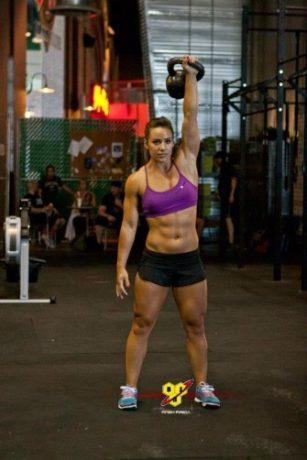 Athletic build