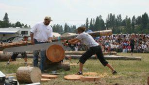 Erin Lavoie Hot Lumberjill