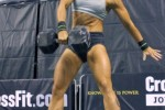 badass crossfit girl