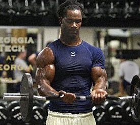 Michael Johnson Jacked