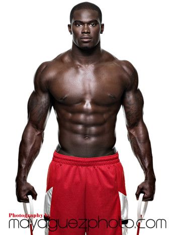 Football player physique