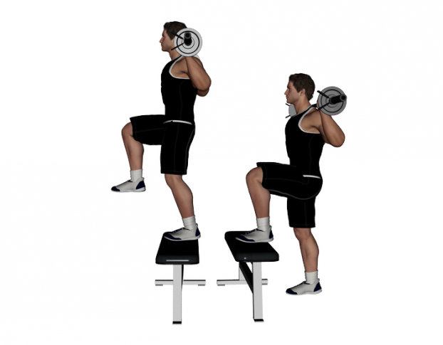 Barbell-Step-Up-with-Knee-622×485