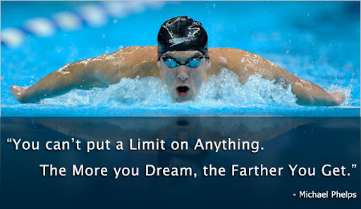You can't put a limit on anything. The more you dream, the farther you get. – Michael_Phelps