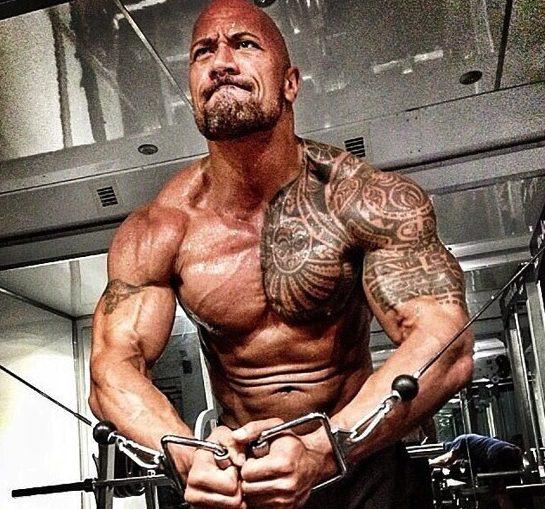 The Rock Dwayne Johnson Workout