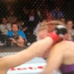 Ear Explodes During UFC 180 Fight - GRAPHIC!