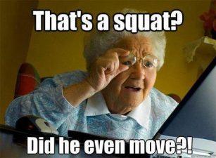 bad squats