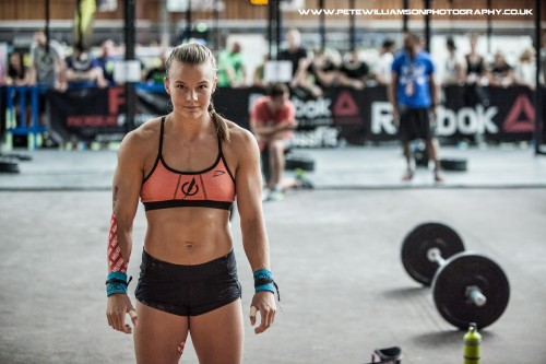 Athletic crossfit body