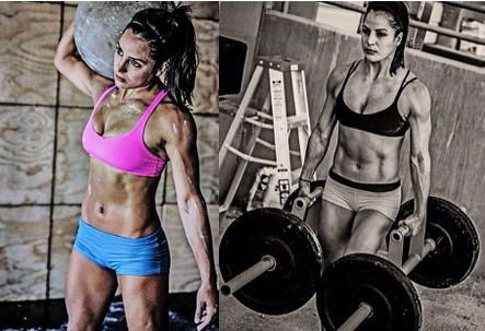 Hot crossfit girl