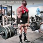 George Leeman Deadlifts 800 lbs For 8 Reps