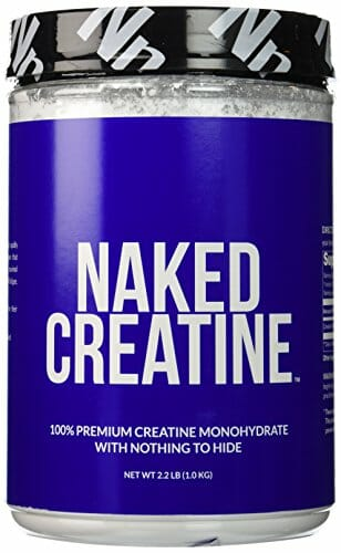 Naked creatine tub
