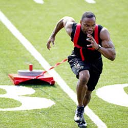 Sled speed training