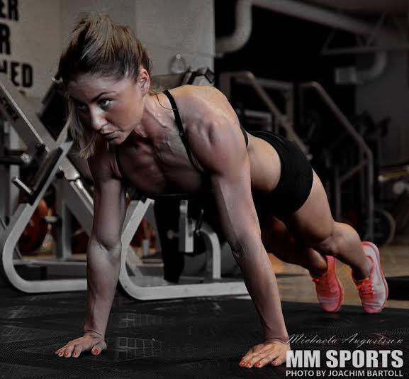 female push up