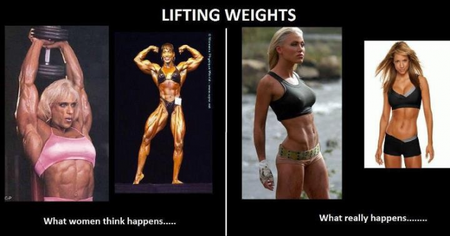 real weight lifting