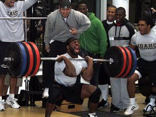Build athletic power