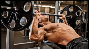 Incline barbell press