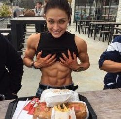 cheat meal girl