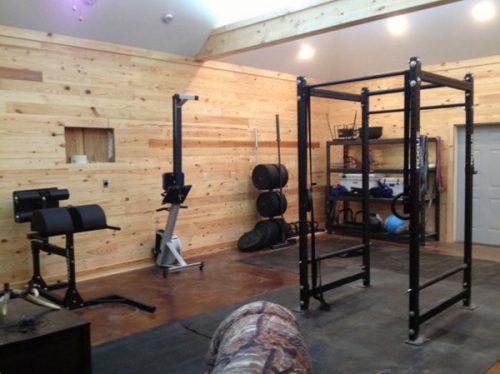 cool home gym