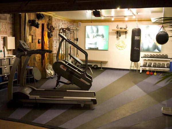 garage gym flooring