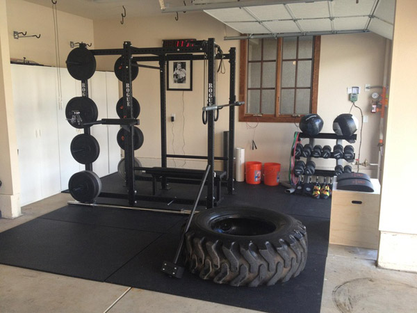 Definite rogue garage gym