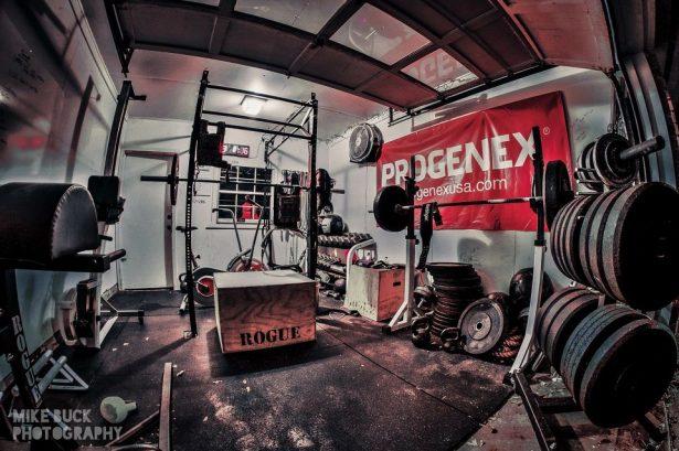 Garage gym awesome