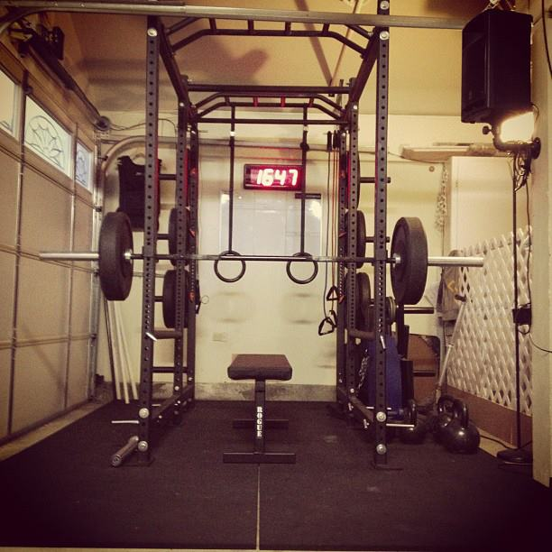 Small garage gym