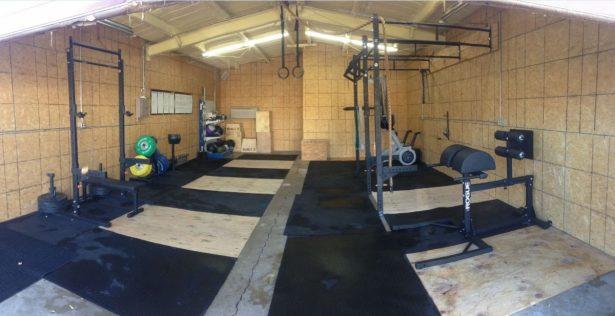 garage home gym