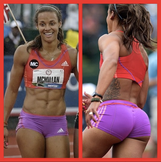 Hot sprinter girl