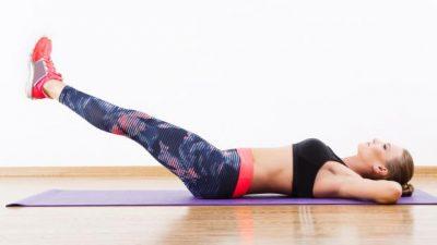 Leg raise exercise