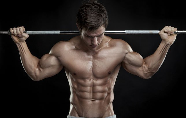 ripped male