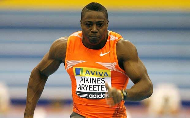 Harry Aikines-Aryeetey jacked