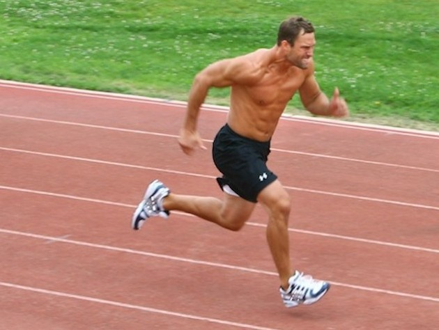 Running sprints