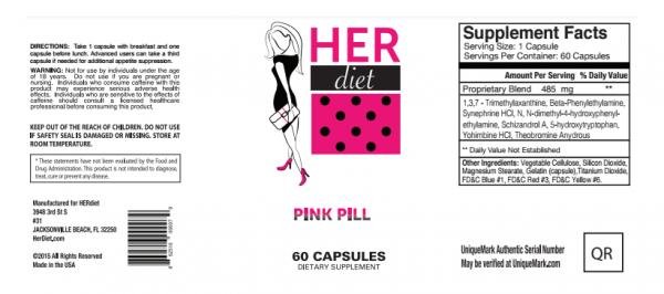 HERdiet Label