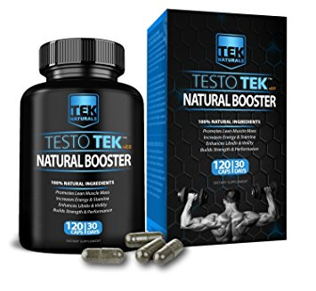 TestoTEK bottle and package